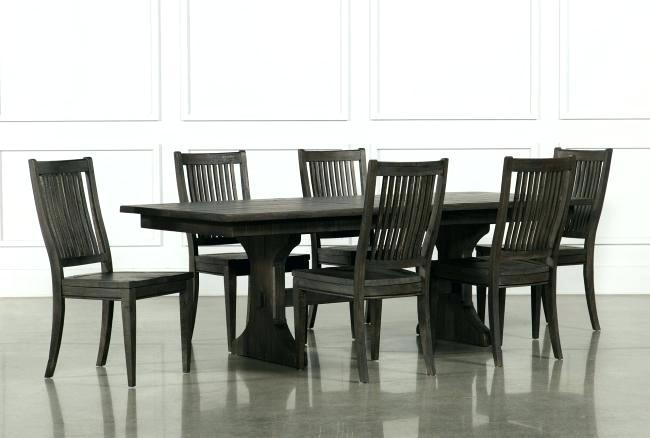 Living Spaces Dining Sets Mallard 6 Piece Extension Dining Set Within Mallard 6 Piece Extension Dining Sets (Image 18 of 25)