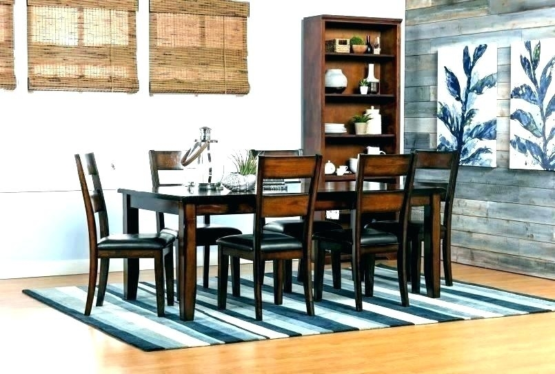Living Spaces Dining Sets Mallard 7 Piece Extension Dining Set Regarding Mallard Extension Dining Tables (Image 16 of 25)
