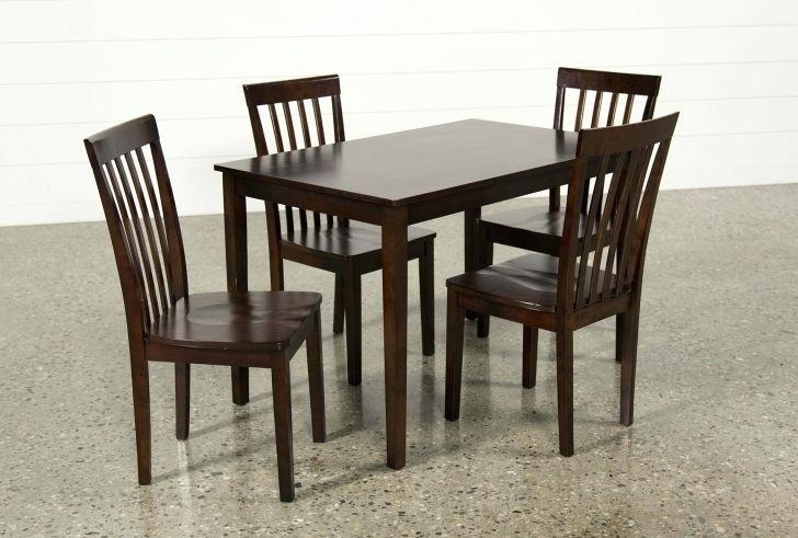 Living Spaces Dining Sets Pierce 5 Piece Counter Set Living Spaces For Pierce 5 Piece Counter Sets (Image 14 of 25)