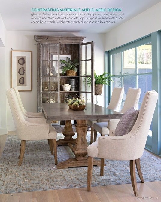 Living Spaces Dining Table – Loris Decoration With Chapleau Ii Extension Dining Tables (Image 22 of 25)