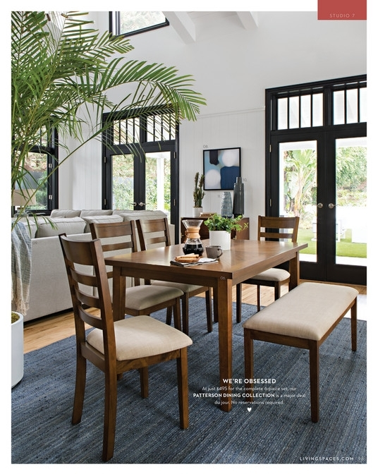 Living Spaces – Fall 2017 – Patterson 6 Piece Dining Set Intended For Patterson 6 Piece Dining Sets (View 1 of 25)