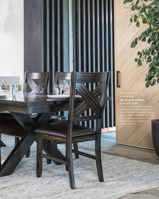 Living Spaces – Fall 2017 – Pelennor Extension Dining Table With Pelennor Extension Dining Tables (Image 15 of 25)