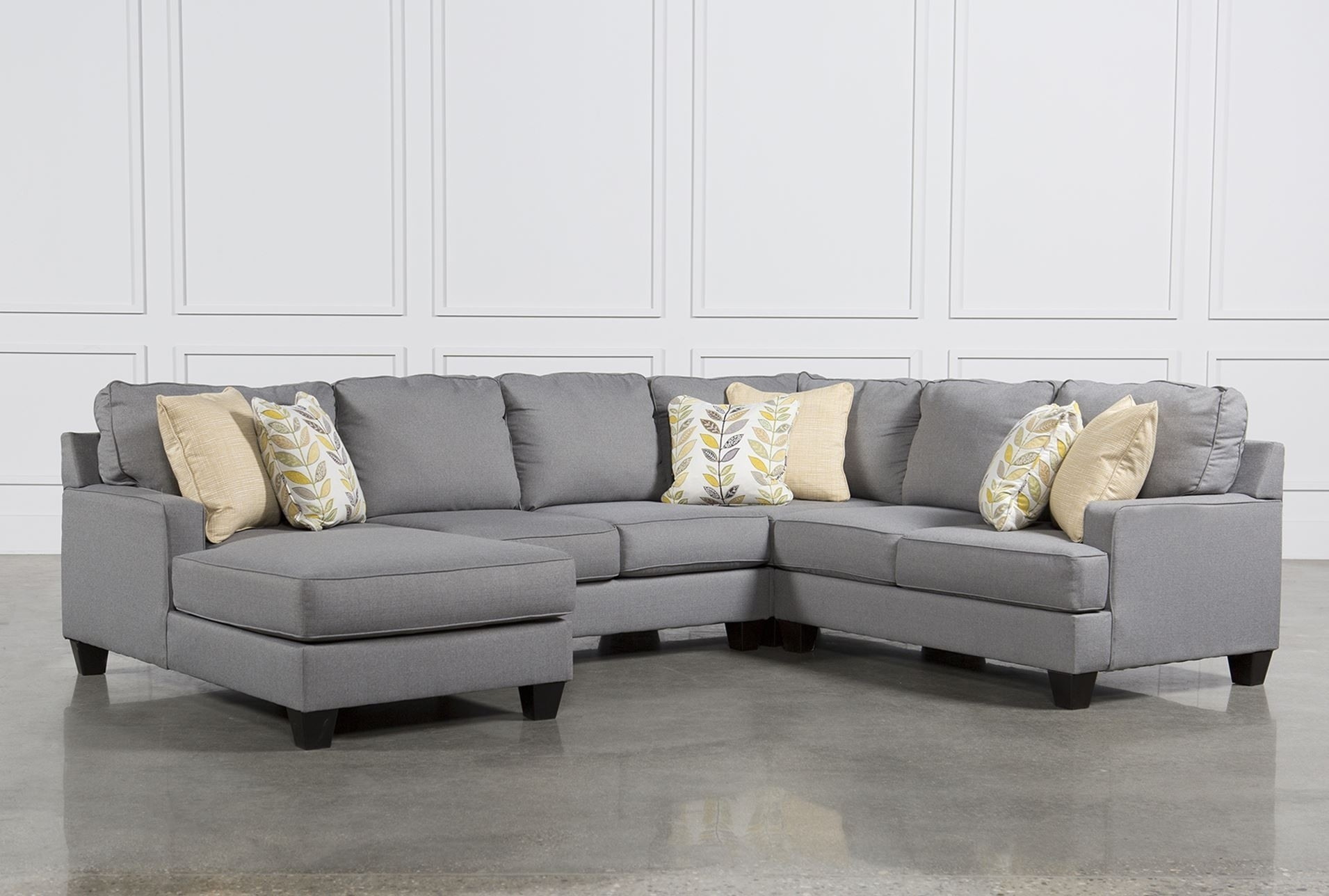 Living Spaces Sectional Couches – Implantologiabogota (View 3 of 25)