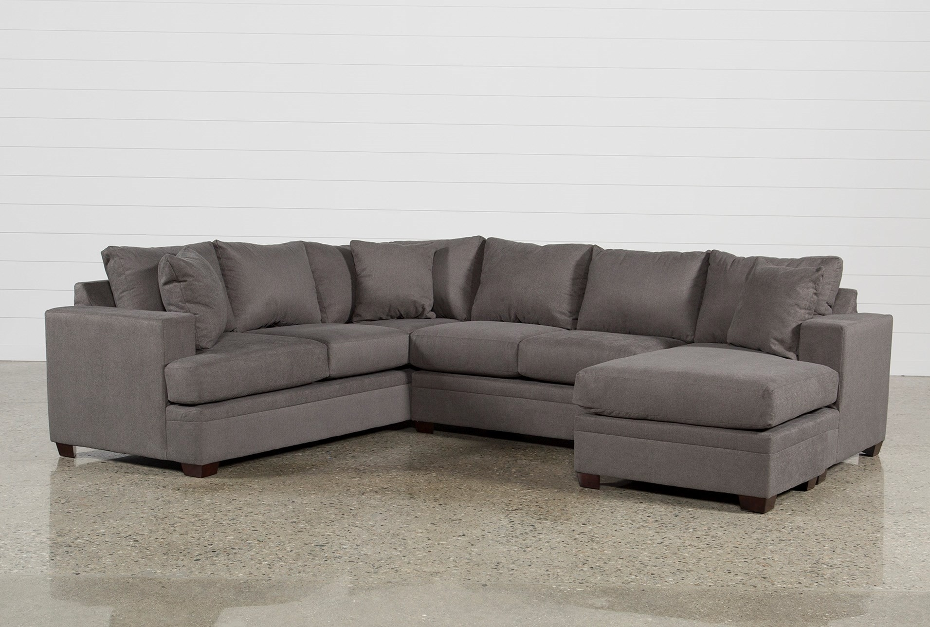 Living Spaces Sectional – Implantologiabogota (View 6 of 25)