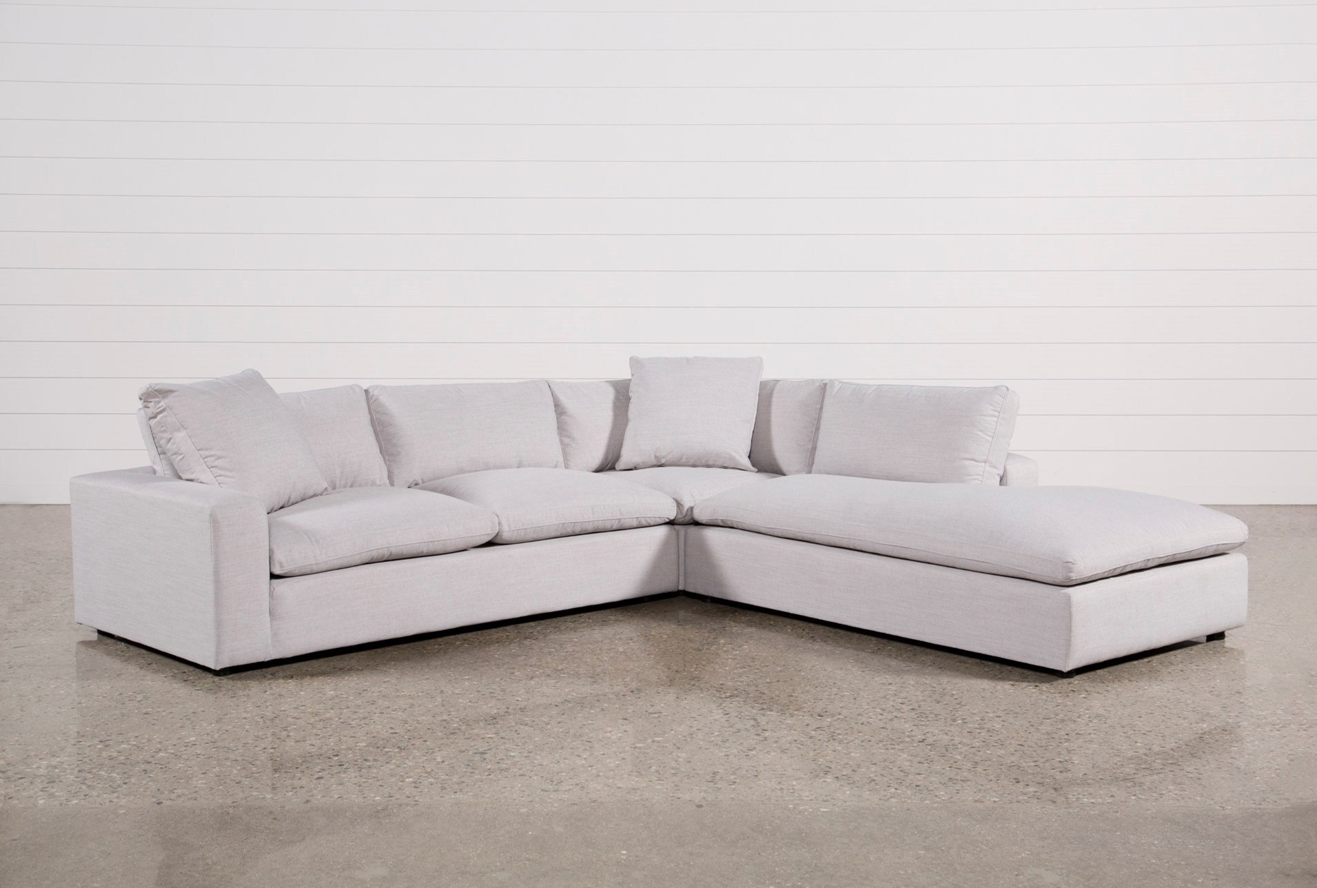 Living Spaces Sectional Sofas Delano 2 Piece W Laf Oversized Chaise For Delano 2 Piece Sectionals With Laf Oversized Chaise (Image 19 of 25)