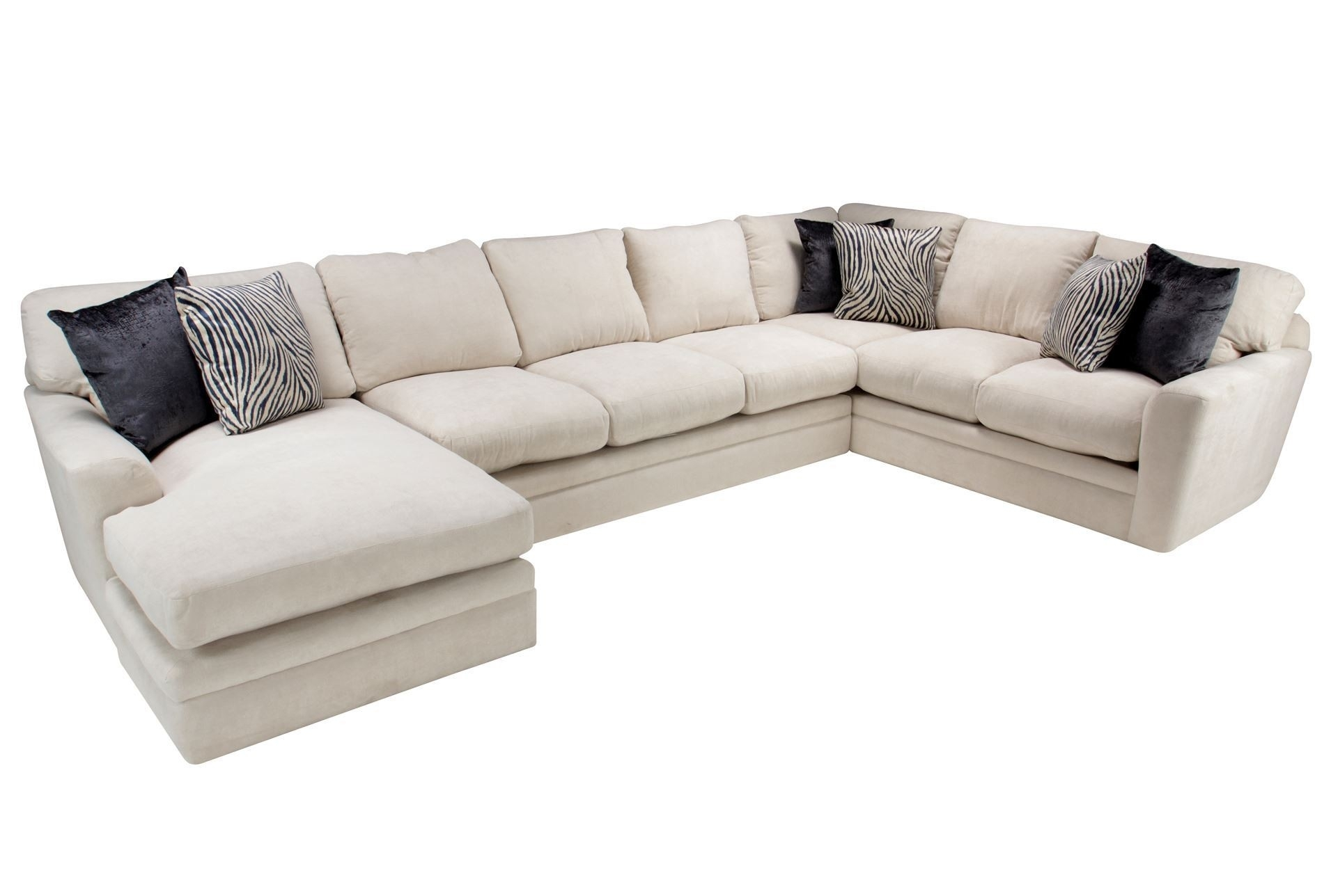 Living Spaces Sectional Sofas Delano 2 Piece W Laf Oversized Chaise Intended For Delano 2 Piece Sectionals With Laf Oversized Chaise (Image 20 of 25)