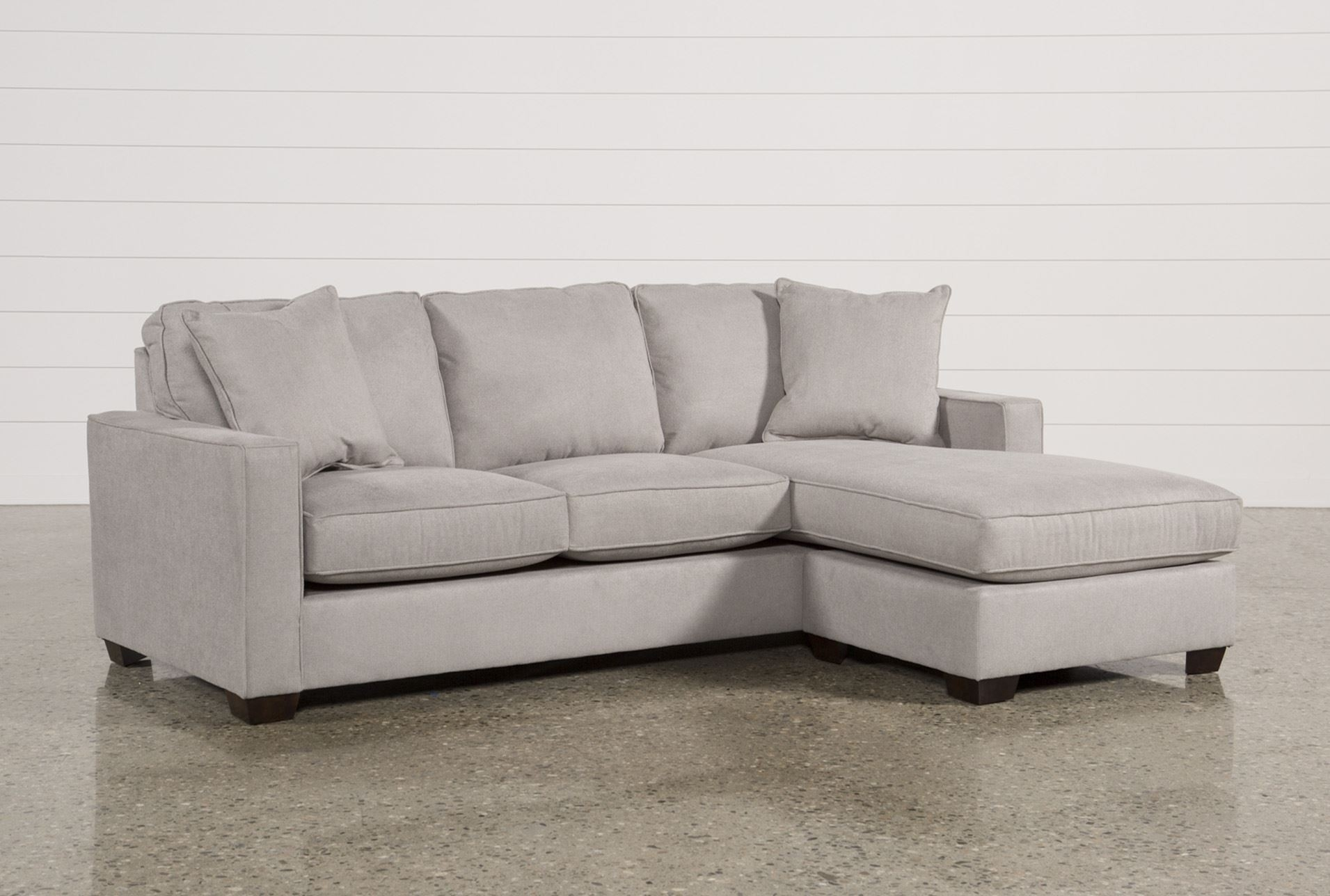 Living Spaces Sectional Sofas Kerri 2 Piece W Raf Chaise 107153 0 Throughout Kerri 2 Piece Sectionals With Laf Chaise (Image 19 of 25)