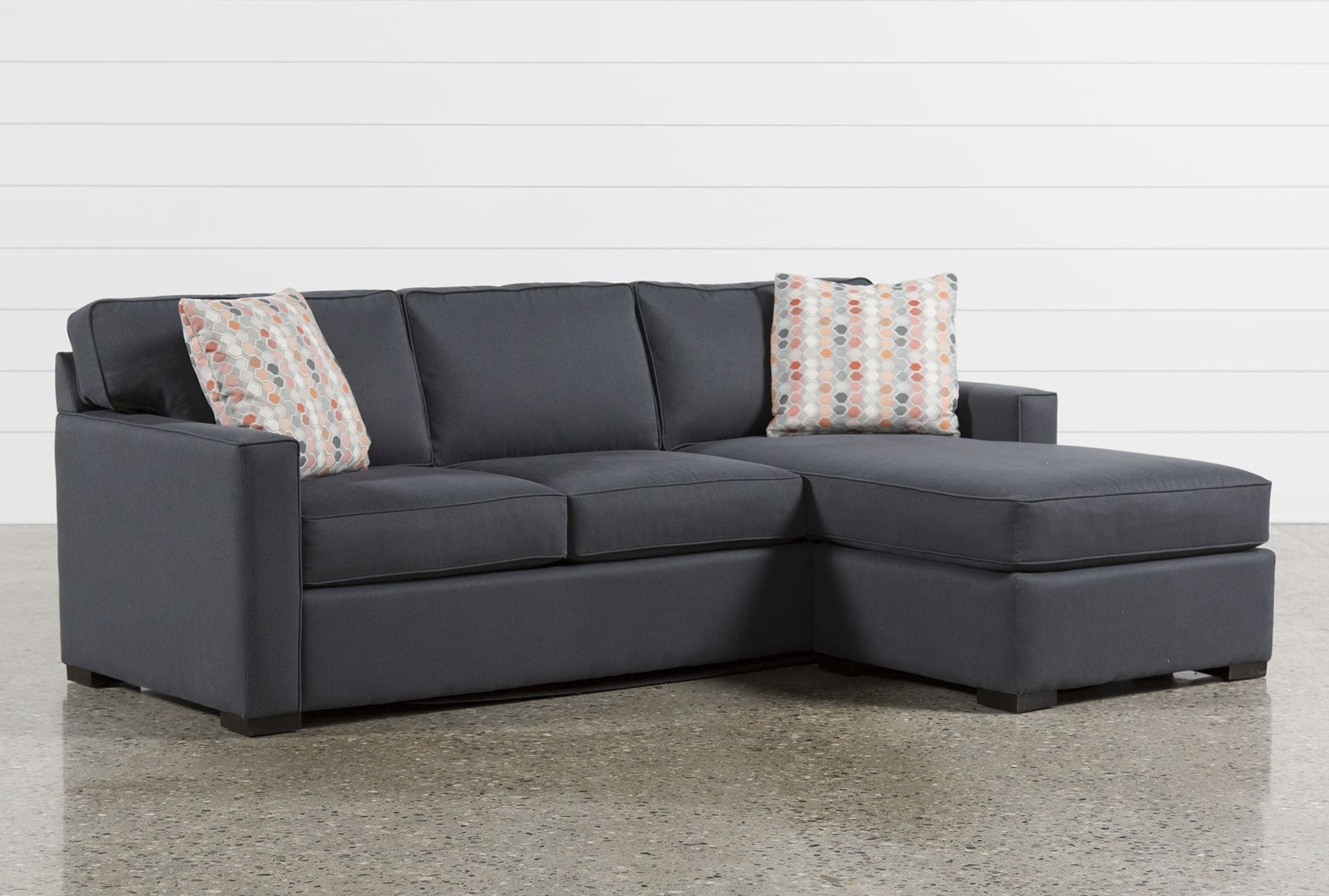 Living Spaces Sectional – Tidex Intended For Kerri 2 Piece Sectionals With Laf Chaise (Image 16 of 25)