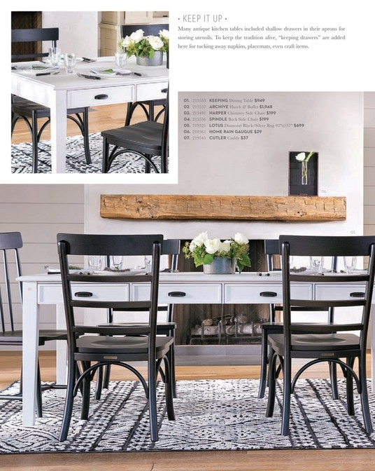 Living Spaces – Spring 2018 – Magnolia Home Keeping Dining Table Within Magnolia Home Keeping Dining Tables (Image 4 of 25)