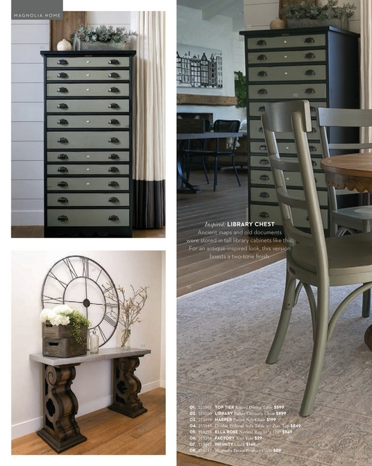 Living Spaces – Spring 2018 – Magnolia Home Top Tier Round Dining With Magnolia Home Top Tier Round Dining Tables (View 12 of 25)