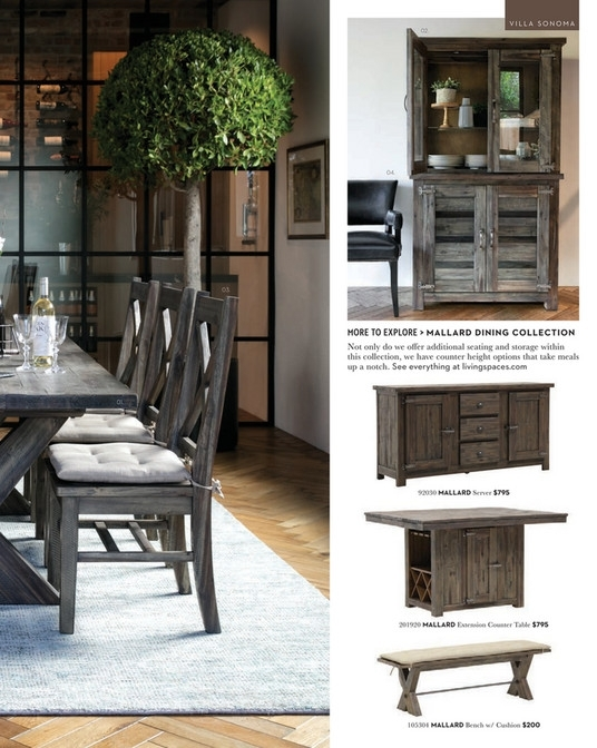 Living Spaces – Spring 2018 – Mallard Extension Dining Table Pertaining To Mallard Extension Dining Tables (Image 12 of 25)