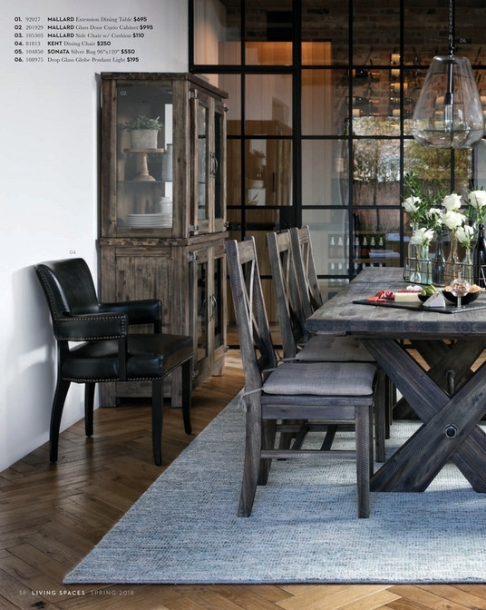 Living Spaces – Spring 2018 – Mallard Extension Dining Table Throughout Mallard Extension Dining Tables (Image 13 of 25)