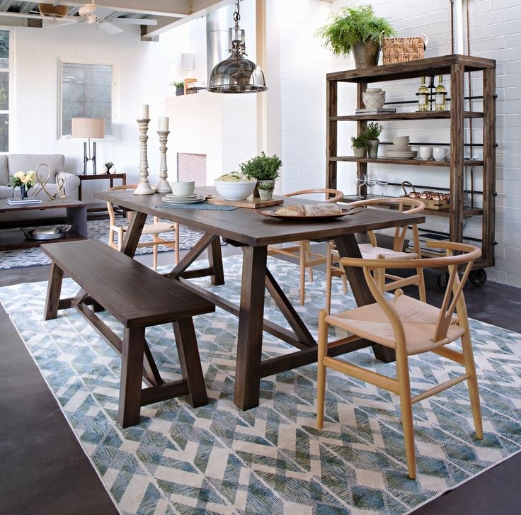 Living Spaces Tables – Loris Decoration Intended For Pelennor Extension Dining Tables (Image 17 of 25)