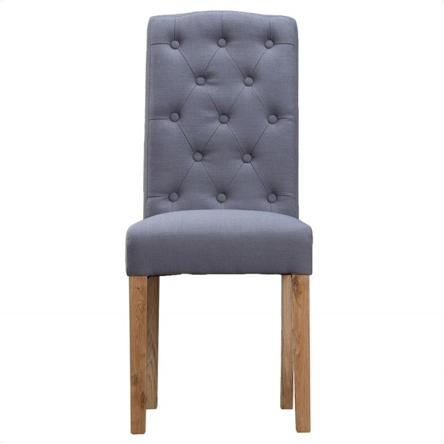 Loire Button Back Dining Chair|Oldrids & Downtown Pertaining To Button Back Dining Chairs (Image 18 of 25)