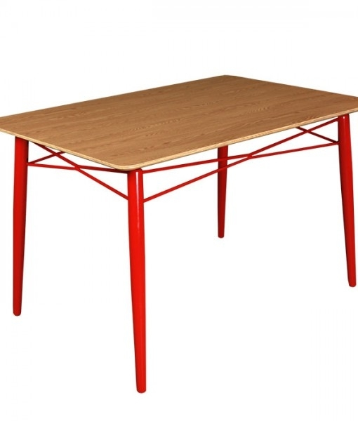 London Dining Table – Red Inside London Dining Tables (Image 17 of 25)