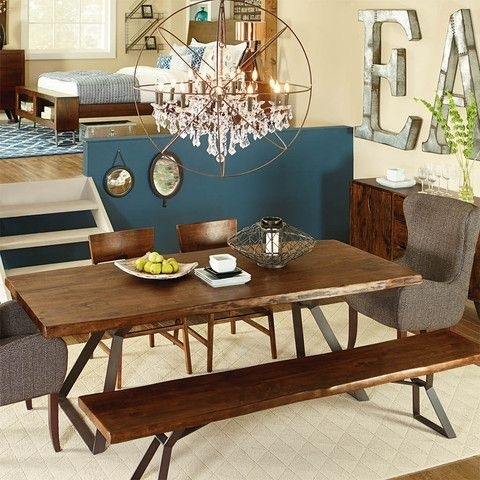 London Loft Dining Table | Lofts, Rustic Table And Acacia Wood Regarding Dining Tables London (View 20 of 25)