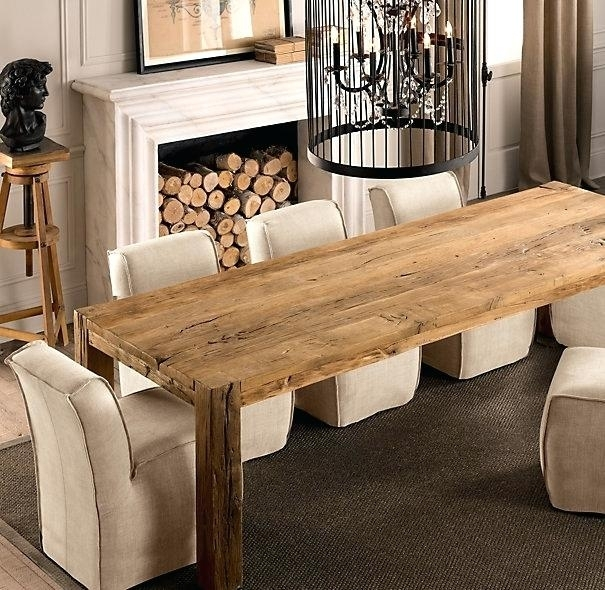 Long Dining Room Tables – Dining Table Furniture Design Pertaining To Long Dining Tables (Image 15 of 25)
