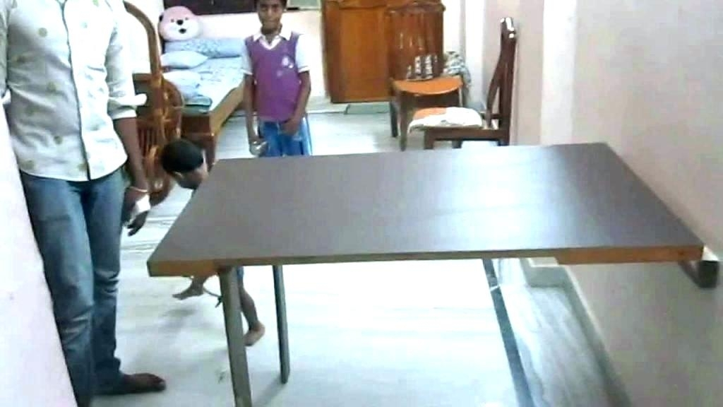 Long Folding Dining Table Folding Dining Table Hector – Gamerduel (Image 16 of 25)