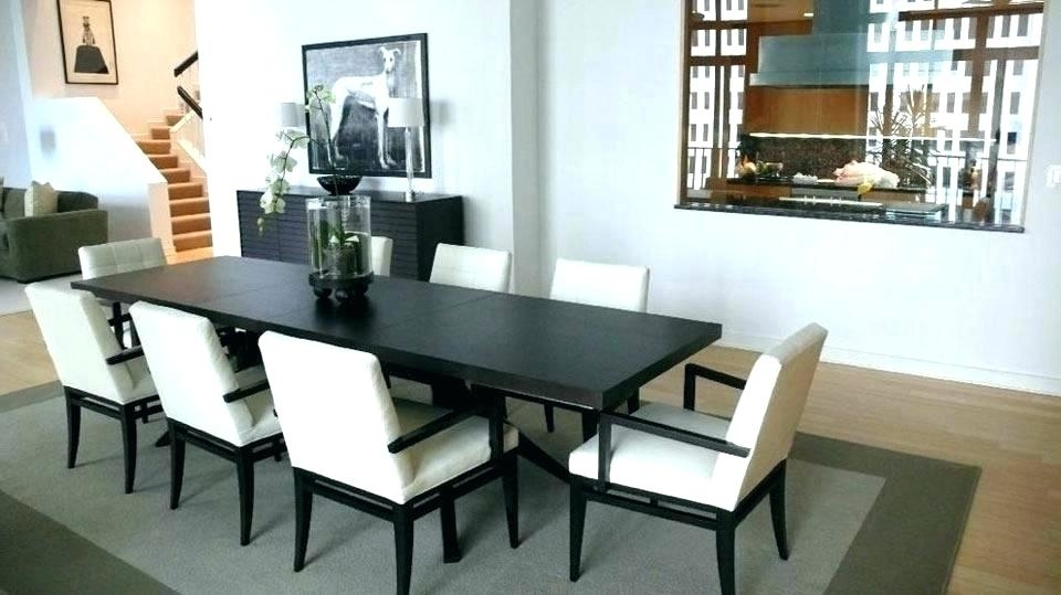 Long Narrow Dining Table Black : Ugarelay – The Choice Of Right Long For Narrow Dining Tables (Image 7 of 25)
