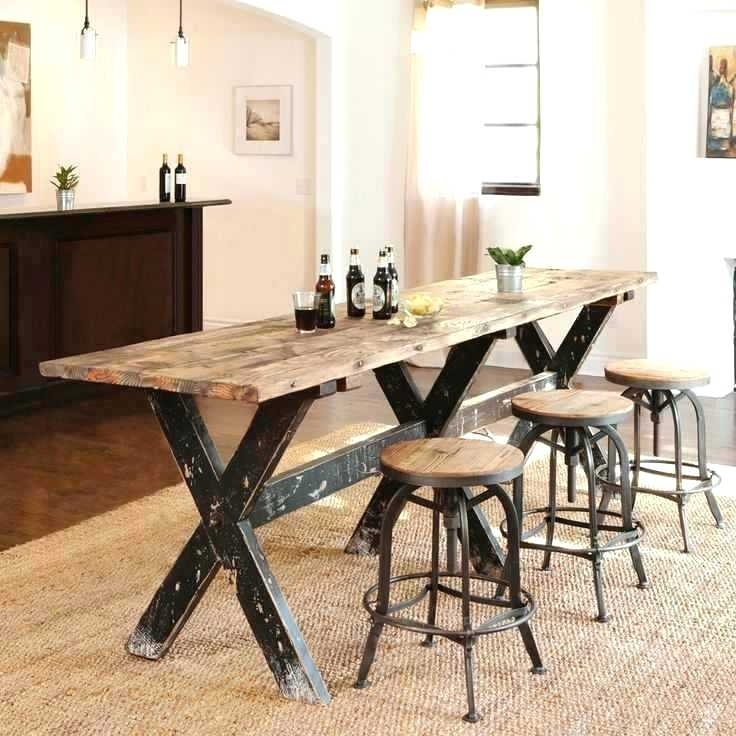 Long Thin Dining Table Long Skinny Dining Table Thin Extendable Throughout Thin Long Dining Tables (Image 13 of 25)