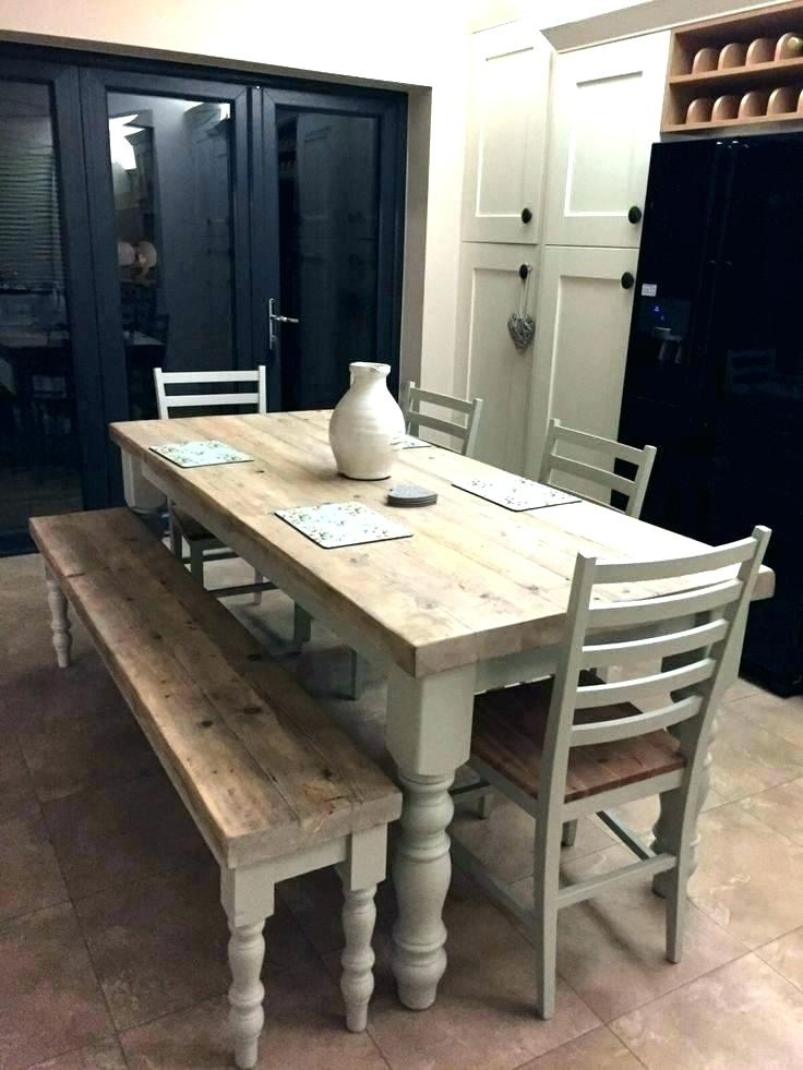 Long Thin Dining Table Narrow Farmhouse Table Narrow Farmhouse Table Inside Thin Long Dining Tables (Image 14 of 25)