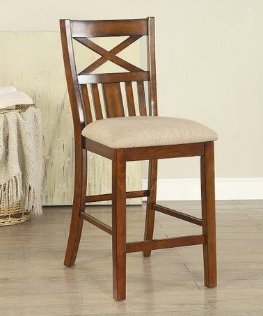 Look What I Found On #zulily! Channer X Back Wood Chair #zulilyfinds With Bradford 7 Piece Dining Sets With Bardstown Side Chairs (View 21 of 25)