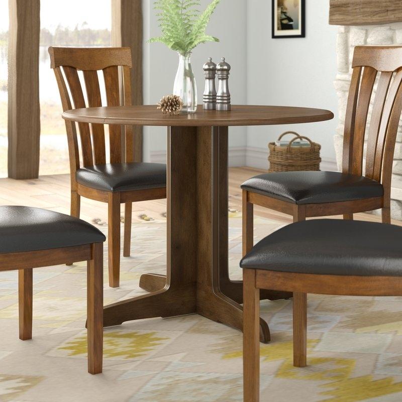 Loon Peak Cristobal Drop Leaf Dining Table & Reviews   Wayfair Within Cheap Drop Leaf Dining Tables (Image 17 of 25)