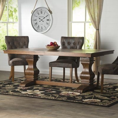 """Loon Peak Needham 95"""" Extendable Dining Table 