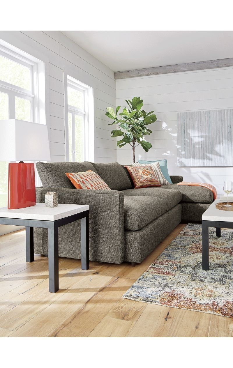 Lounge Ii 2 Piece Sectional Sofa In 2018 | House | Pinterest Within Elm Grande Ii 2 Piece Sectionals (Image 21 of 25)
