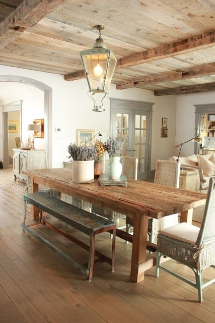 Love This Updated Take On A Rustic Provence Kitchen (View 9 of 25)