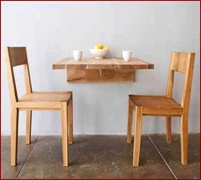 Lovely Wall Mounted Dining Tables Idea Table Nice Folding Wall With Large Folding Dining Tables (View 11 of 25)