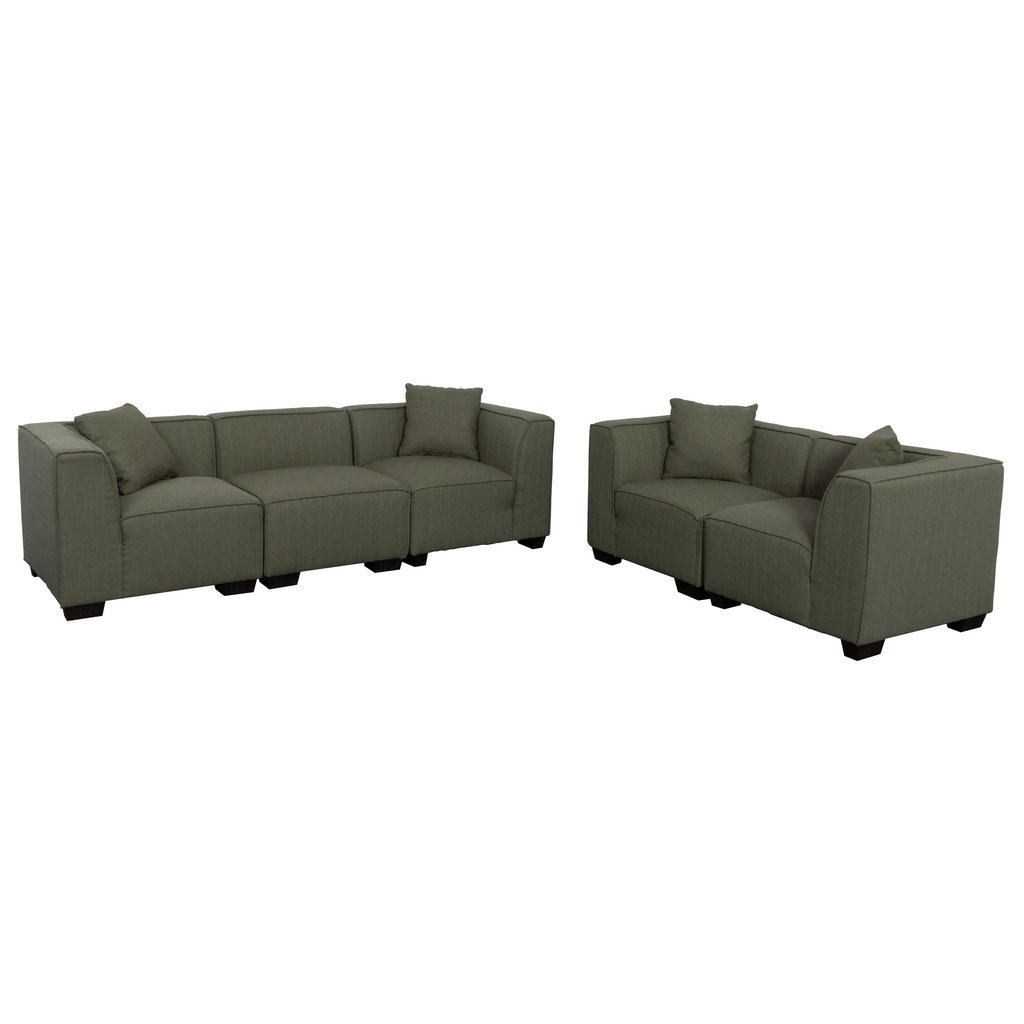 Loveseat Sectional | Whitecraftwoodard Mona Wicker Right Arm Inside Turdur 2 Piece Sectionals With Laf Loveseat (View 25 of 25)