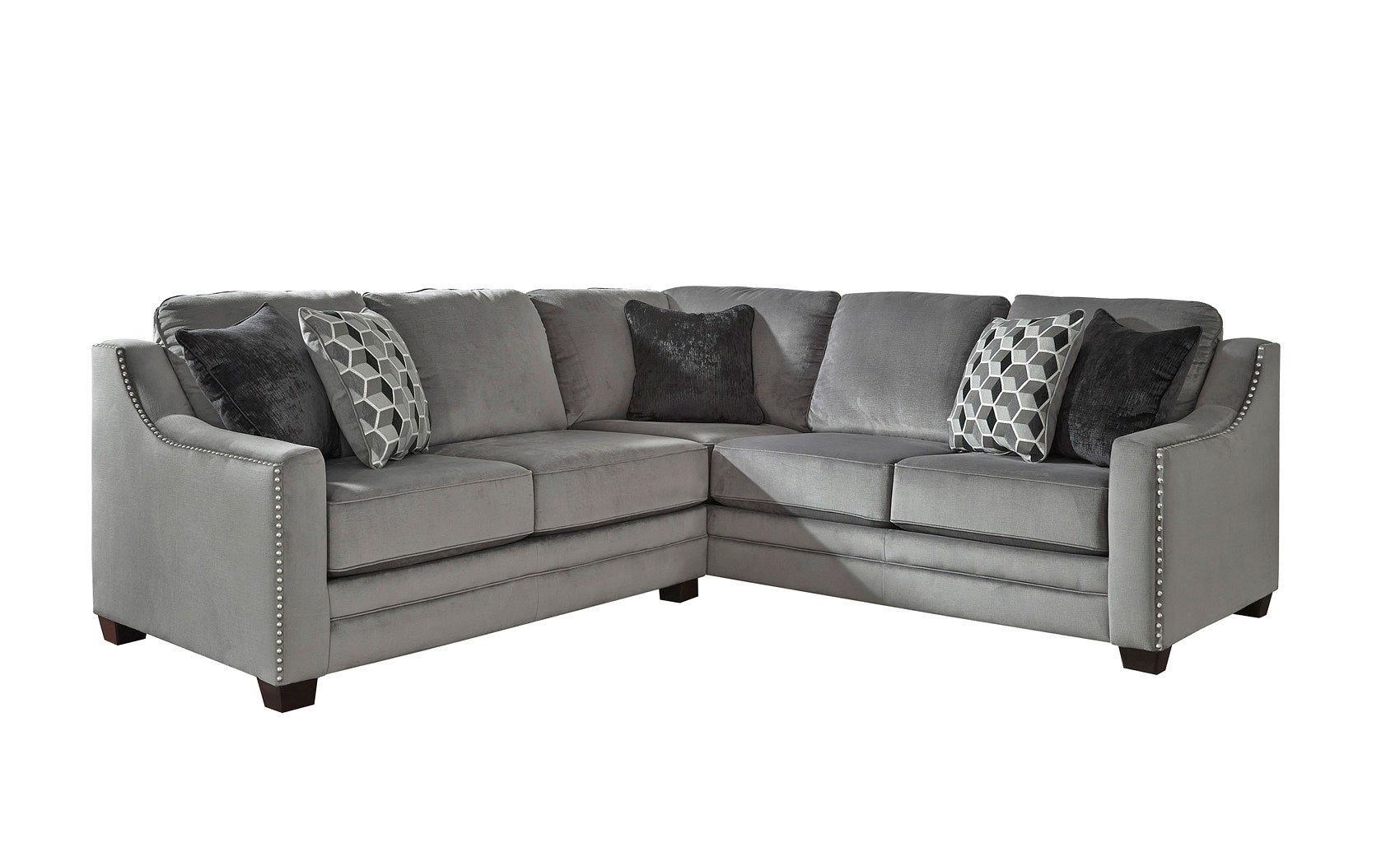 Loveseat Sectional | Whitecraftwoodard Mona Wicker Right Arm Inside Turdur 2 Piece Sectionals With Laf Loveseat (Image 12 of 25)