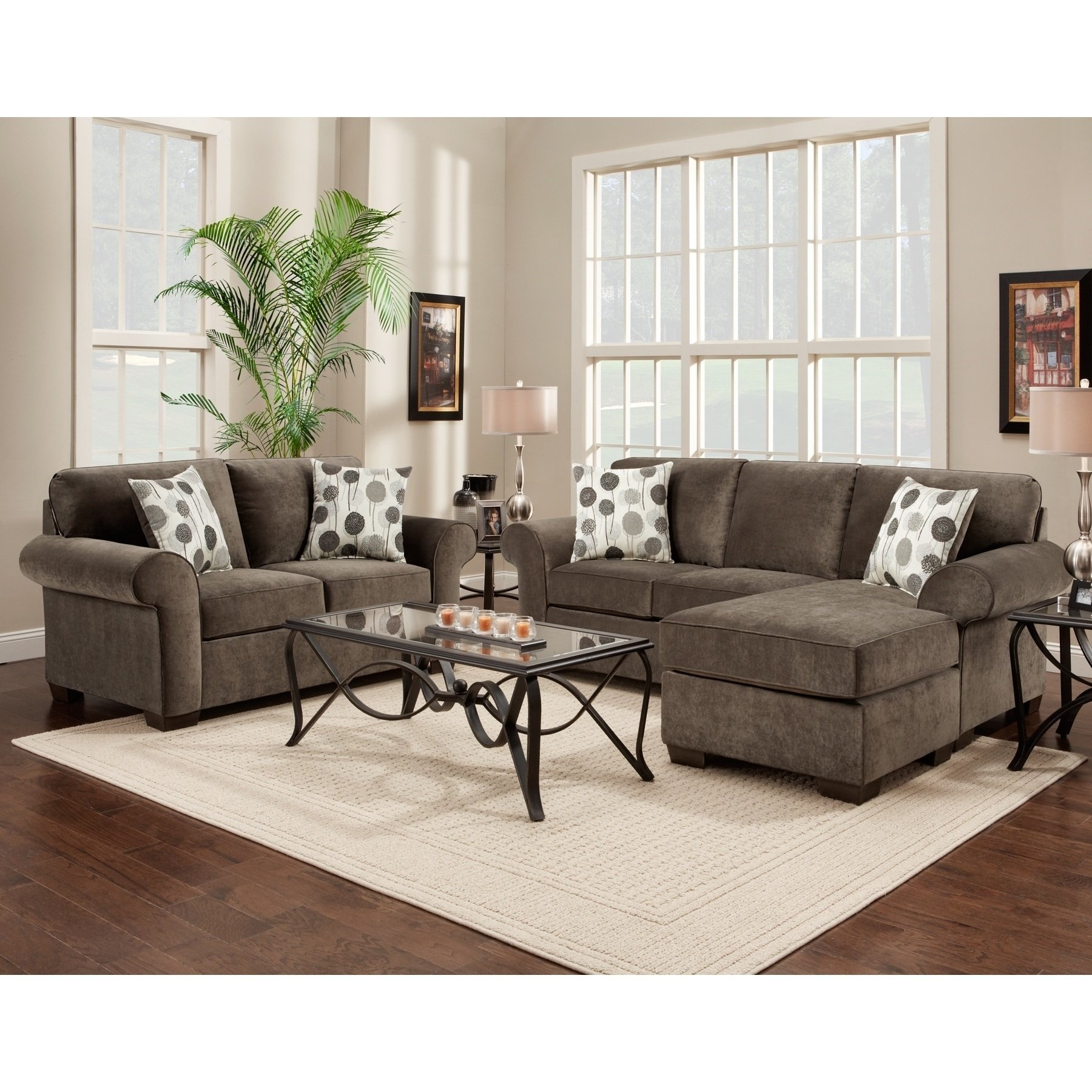 Loveseat Sectional | Whitecraftwoodard Mona Wicker Right Arm Intended For Taron 3 Piece Power Reclining Sectionals With Right Facing Console Loveseat (Image 12 of 20)