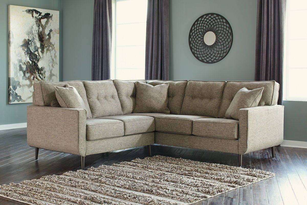 Loveseat Sectional | Whitecraftwoodard Mona Wicker Right Arm Regarding Taron 3 Piece Power Reclining Sectionals With Right Facing Console Loveseat (View 6 of 20)
