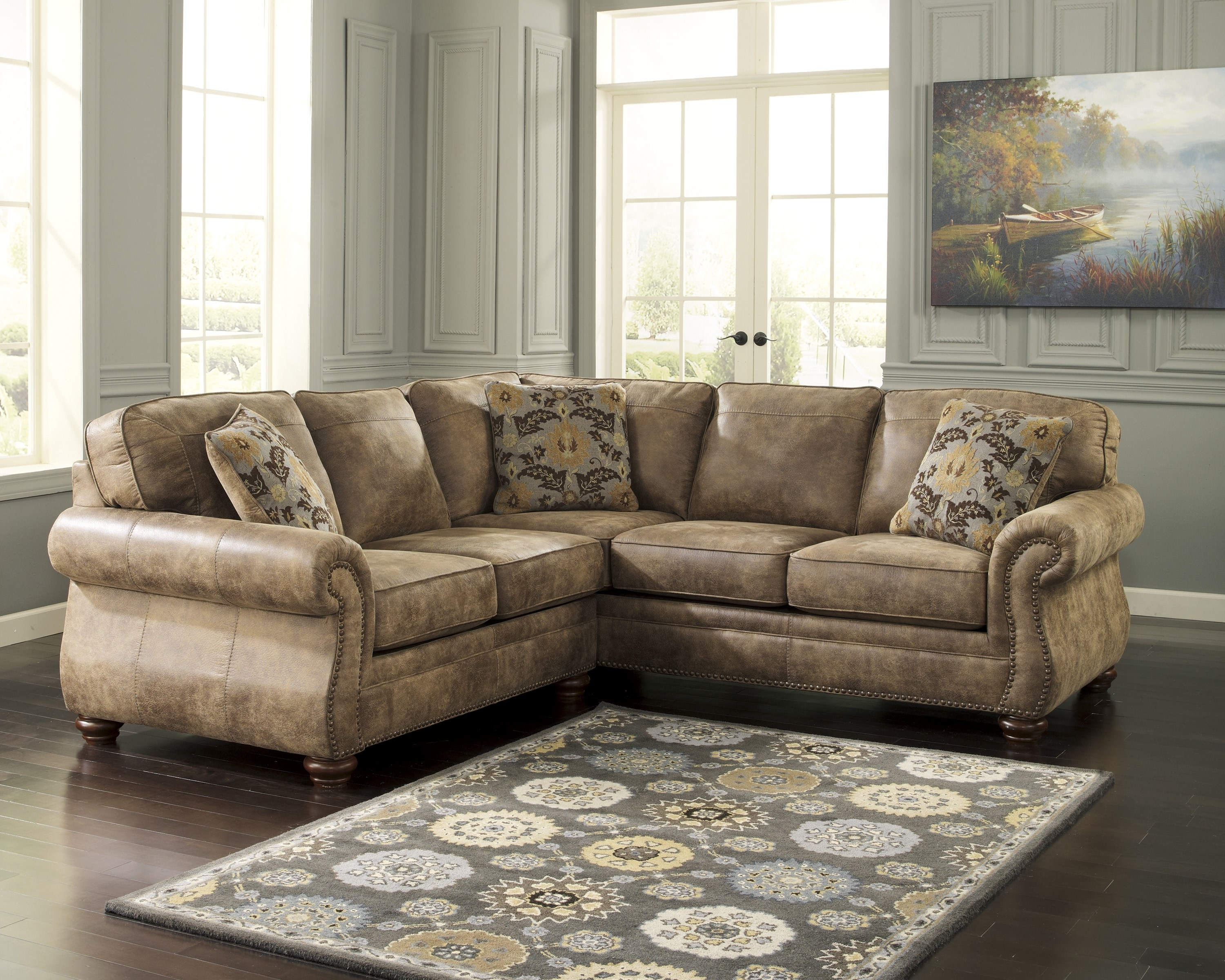 Loveseat Sectional | Whitecraftwoodard Mona Wicker Right Arm Within Declan 3 Piece Power Reclining Sectionals With Left Facing Console Loveseat (Image 20 of 25)