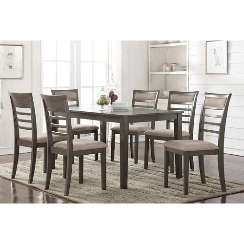 Lowell Extension Table Regarding Amos 7 Piece Extension Dining Sets (View 15 of 25)