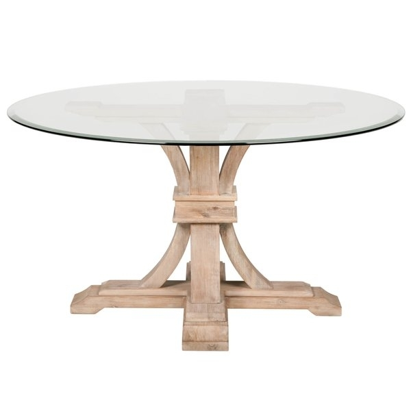 Lowest Price Online On All Hooker Furniture Corsica 54 Round Dining Regarding Caira Extension Pedestal Dining Tables (Image 14 of 25)
