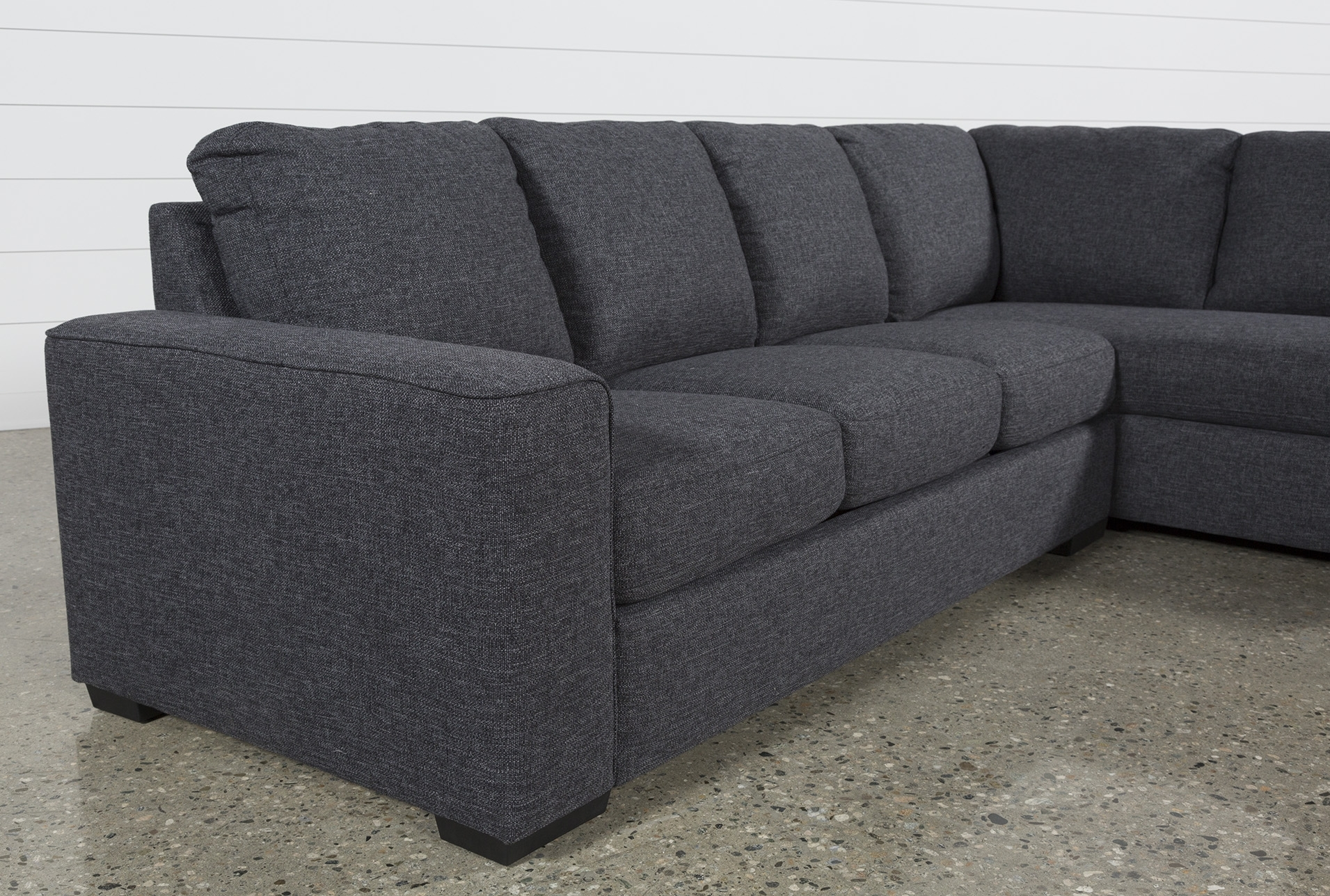 Lucy Dark Grey 2 Piece Sectional W/raf Chaise | Pinterest | Dark With Lucy Dark Grey 2 Piece Sleeper Sectionals With Raf Chaise (View 3 of 25)