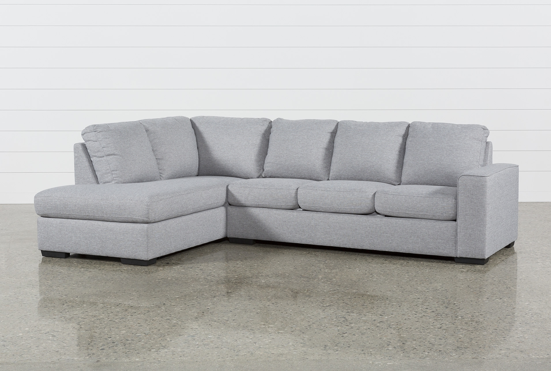 Lucy Grey 2 Piece Sectional W/laf Chaise | Products Regarding Lucy Dark Grey 2 Piece Sectionals With Raf Chaise (View 2 of 25)