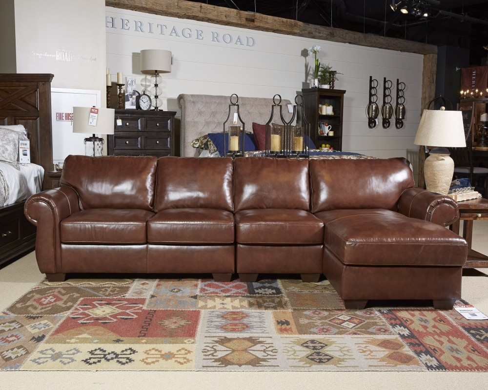 Lugoro – Saddle – Laf Corner Chaise   5060216   Sectional Pieces With Regard To Avery 2 Piece Sectionals With Laf Armless Chaise (Image 18 of 25)