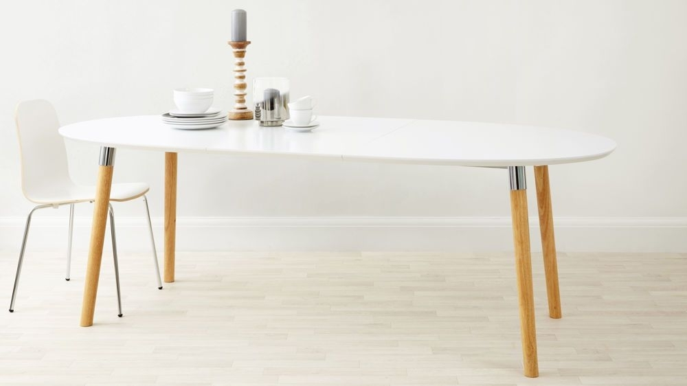 Luka Matt White Extending Dining Table | Renovations | Pinterest Within White Extendable Dining Tables (Image 15 of 25)