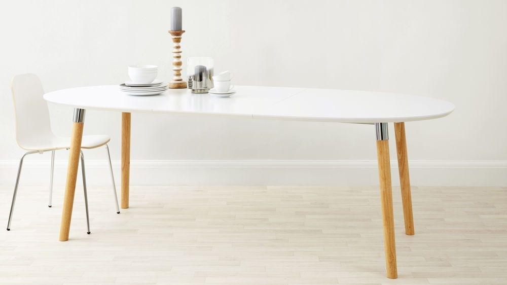 Luka Matt White Extending Dining Table | Renovations | Pinterest Within White Extendable Dining Tables (View 12 of 25)