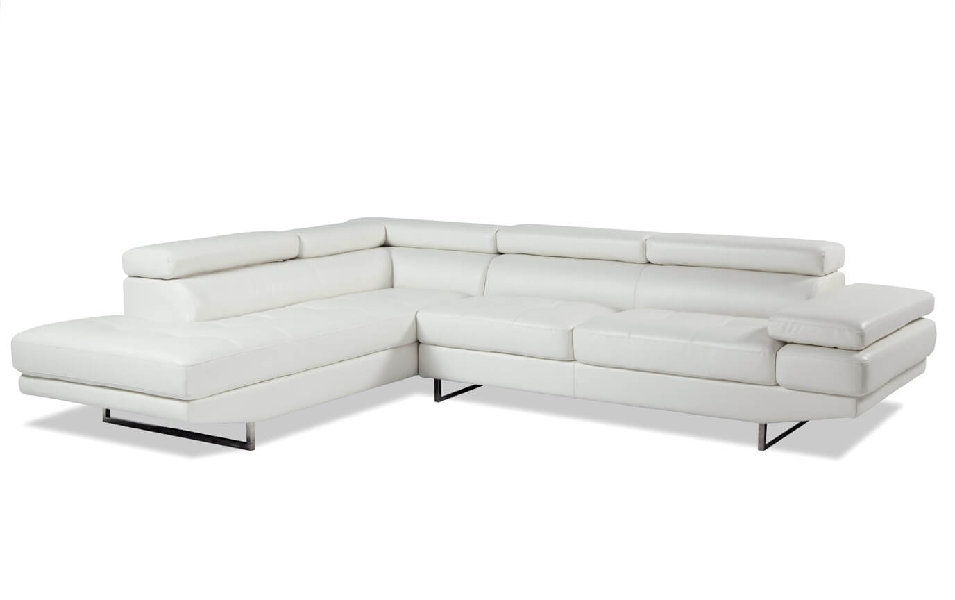 Luna 2 Piece Right Arm Facing Sectional | Bob's Discount Furniture Pertaining To Lucy Dark Grey 2 Piece Sleeper Sectionals With Raf Chaise (Image 19 of 25)