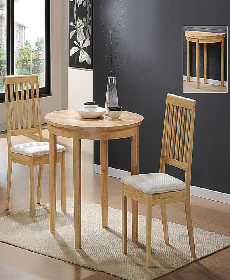 Lunar Dining Set With 2 Chairs|5% Off|Woodlers Throughout Dining Tables And 2 Chairs (View 18 of 25)