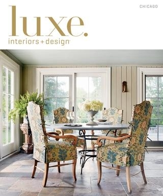 Luxe Magazine Summer 2015 Chicagosandow® – Issuu With Regard To Palazzo 7 Piece Dining Sets With Mindy Slipcovered Side Chairs (View 20 of 25)