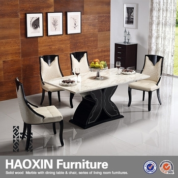 Luxury 8 People Marble Dining Table Set – Buy Marble Top Dining With Solid Marble Dining Tables (View 14 of 25)