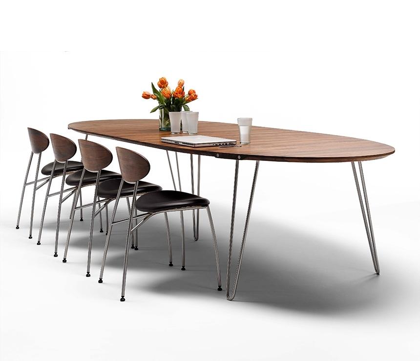Luxury Danish Modern Dining Tables – Wharfside Regarding Danish Dining Tables (Image 21 of 25)