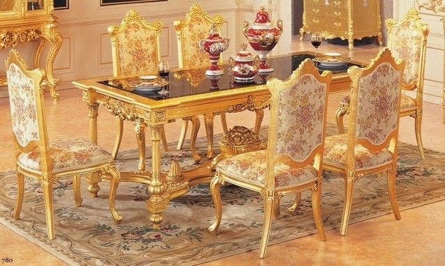 Luxury Dining Table Set Dining Table With 6 Chairs Wooden Dining Within Wooden Dining Tables And 6 Chairs (View 16 of 25)