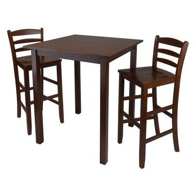 Luxury Home Parkland 3 Piece Counter Height Dining Set | Products With Regard To Valencia 3 Piece Counter Sets With Bench (View 22 of 25)